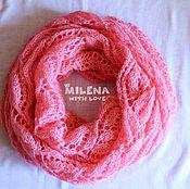 Аксессуары handmade. Livemaster - original item Knitted stitch Pink Flamingo. Handmade.