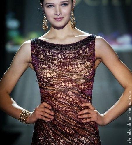 """Платья ручной работы. Ярмарка Мастеров - ручная работа. Купить Платье """"Коричневый металлик"""". Handmade. Вечернее платье, дизайнерская одежда"""