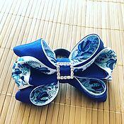 Hairpins handmade. Livemaster - original item The elastic bow of REP ribbons