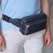 Сумки и аксессуары handmade. Livemaster - original item The -15% share of the Men`s waist bag