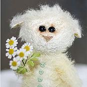 Куклы и игрушки ручной работы. Ярмарка Мастеров - ручная работа Барашек Ромашек. Handmade.