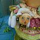 Ароматизированные куклы ручной работы. Белые кудряшки.... Оксана Старова (Xuta). Интернет-магазин Ярмарка Мастеров. Барашек, ароматизированная кукла