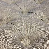 Для дома и интерьера handmade. Livemaster - original item Stool in the style of Provence upholstered
