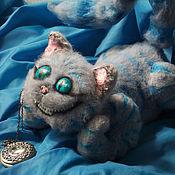 Куклы и игрушки ручной работы. Ярмарка Мастеров - ручная работа Светящийся Чеширский кот. Handmade.