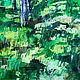 Анна Крюкова impression-живопись Яркая картина в подарок Авторская живопись купить Городской пейзаж картина  Картина город масло холст