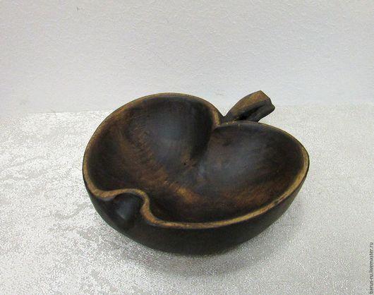 Салатники ручной работы. Ярмарка Мастеров - ручная работа. Купить Чаша яблочко  из липы. Handmade. Деревянная посуда, подарок мужчине