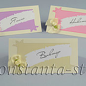 Свадебный салон ручной работы. Ярмарка Мастеров - ручная работа Дизайнерские карточки для королевского торжества. Handmade.