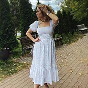 Одежда handmade. Livemaster - original item dresses: Boho dress