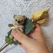 """Куклы и игрушки ручной работы. Ярмарка Мастеров - ручная работа Мишка вязаный  """" Хорошо забытое старое..."""". Handmade."""