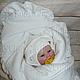 """Для новорожденных, ручной работы. Ярмарка Мастеров - ручная работа. Купить Комплект на выписку """"Мое золотце"""" Зима. Handmade. Одеяло"""