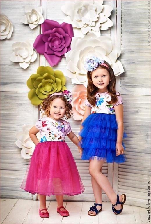 Цветы сделаны специально для фото студии art-yv.com