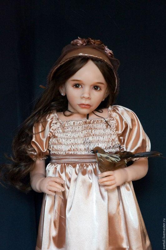 Коллекционные куклы ручной работы. Ярмарка Мастеров - ручная работа. Купить АННА 82см. Handmade. Комбинированный, svetlana grishko, текстиль