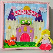 Куклы и игрушки ручной работы. Ярмарка Мастеров - ручная работа Развивающая книжка кукольный домик (8 игровых страниц). Handmade.