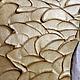 """Картины цветов ручной работы. Объемная фреска """"Девять белых орхидей 2"""". Floritolla. Ярмарка Мастеров. Орхидеи"""