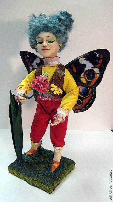 """Коллекционные куклы ручной работы. Ярмарка Мастеров - ручная работа. Купить """"Мускарик эльфик"""" - авторская кукла. Handmade. Эльф, мускарик"""