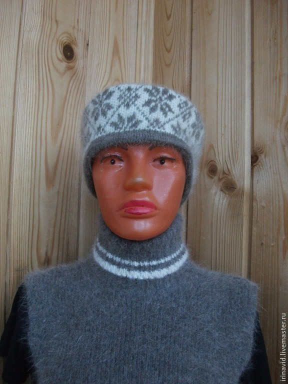 Повязка на голову из собачьей шерсти, Повязки, Тверь, Фото №1