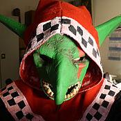 Субкультуры ручной работы. Ярмарка Мастеров - ручная работа Гретчин из Warhammer 40000, маска. Handmade.