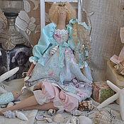 """Куклы и игрушки ручной работы. Ярмарка Мастеров - ручная работа Принцесса в стиле Тильда """"Морской бриз!"""". Handmade."""