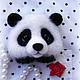 Броши ручной работы. Панда брошь. Волшебные игрушки Мэри Поппинс (AnitaG). Интернет-магазин Ярмарка Мастеров. Панда
