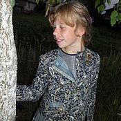 """Работы для детей, ручной работы. Ярмарка Мастеров - ручная работа Жакет курточка легкая детская хлопок """"Габриэль"""". Handmade."""
