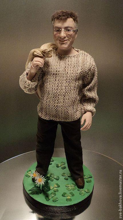 Портретные куклы ручной работы. Ярмарка Мастеров - ручная работа. Купить портретная кукла  другу в подарок. Handmade. Портретные куклы