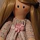 Куклы Тильды ручной работы. Интерьерная кукла Катрин. Творчество Для Души. Интернет-магазин Ярмарка Мастеров. хлопковое кружево