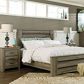 Коллекция для спальни №3 кровать из массива ясеня или дуба