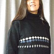 Одежда ручной работы. Ярмарка Мастеров - ручная работа свитер вязаный ,свитер из шерсти ,теплый свитер,свитер на зиму. Handmade.