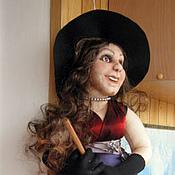 Куклы и игрушки ручной работы. Ярмарка Мастеров - ручная работа Кукла Ведьмочка. Handmade.