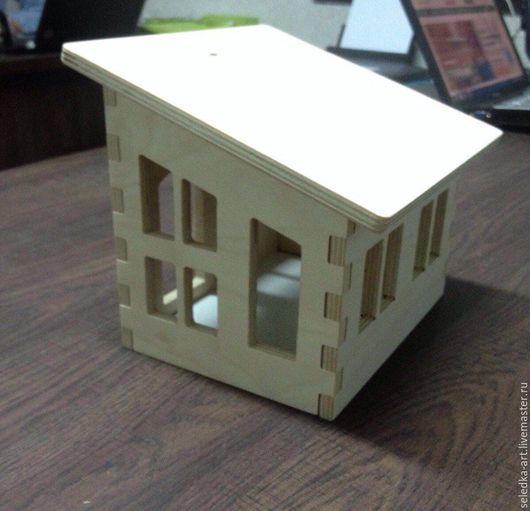 Деревянный домик для творчества `Евро-дом`