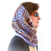 Аксессуары handmade. Livemaster - original item Pavlovoposadskaja Snood from a scarf