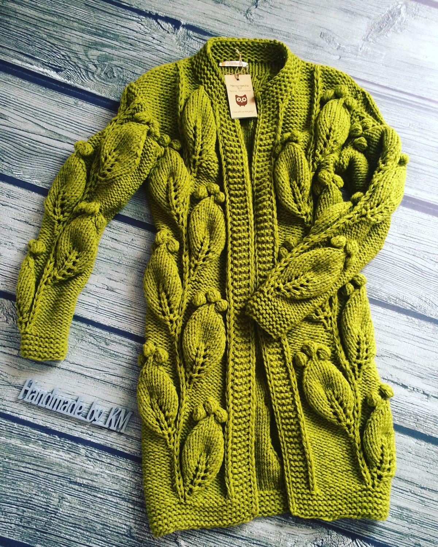 Модные модели вязания регланом 57