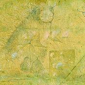 Картины и панно ручной работы. Ярмарка Мастеров - ручная работа В Зелёный дом вернулось Лето... Сказочная картина, пастель.. Handmade.