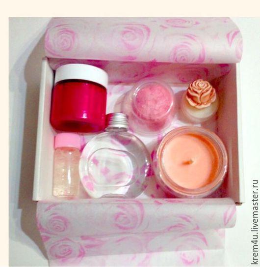 Подарочный набор косметики Invisible Rose, косметика в подарок, роза, подарок женщине, подарочный набор, романтичный подарок, ароматный подарок, подарок на 8 марта, подарок на день валентина.