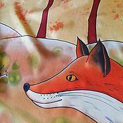Аксессуары handmade. Livemaster - original item Copy of The Little Prince. Hand painted silk scarf. Handmade.