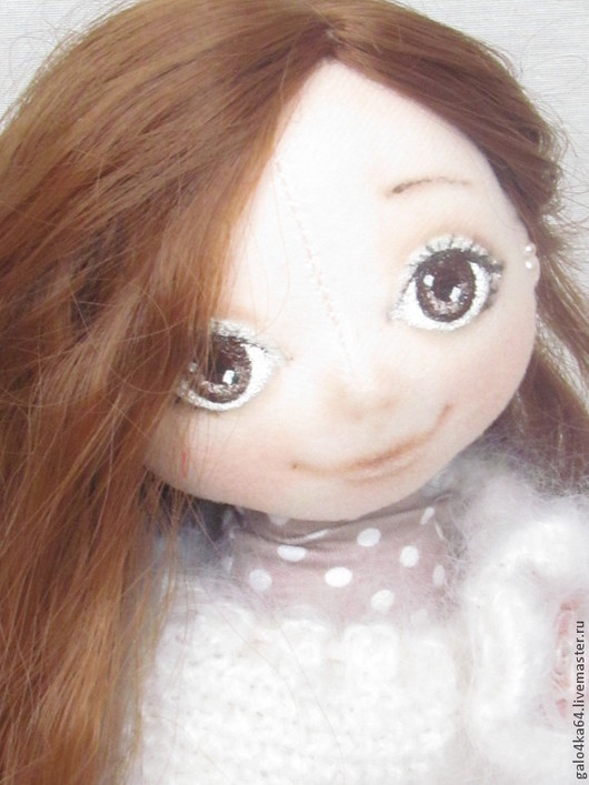 Коллекционные куклы ручной работы. Ярмарка Мастеров - ручная работа. Купить Кукла ДАНА с собачкой. Handmade. Кукла ручной работы