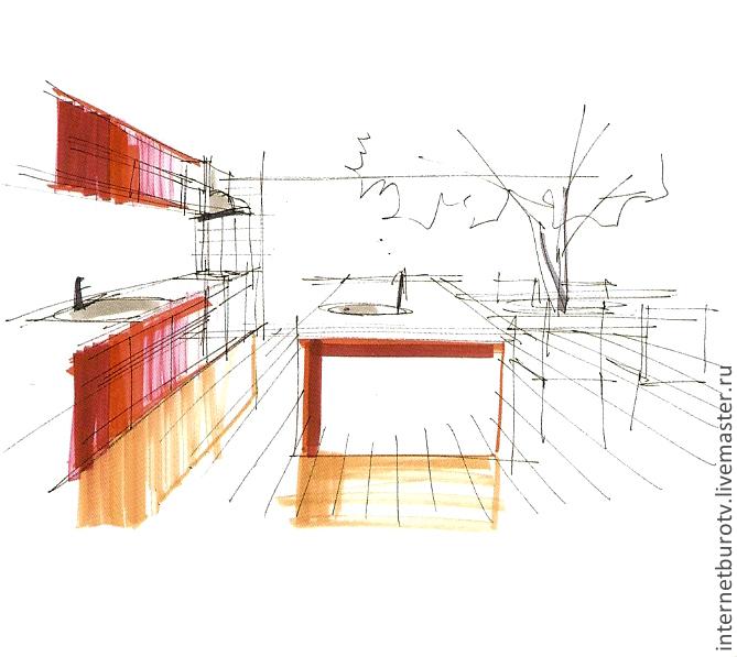 Дизайн интерьеров ручной