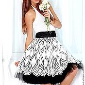 """Одежда ручной работы. Ярмарка Мастеров - ручная работа Платье """"Лето в ретро стиле"""". Handmade."""