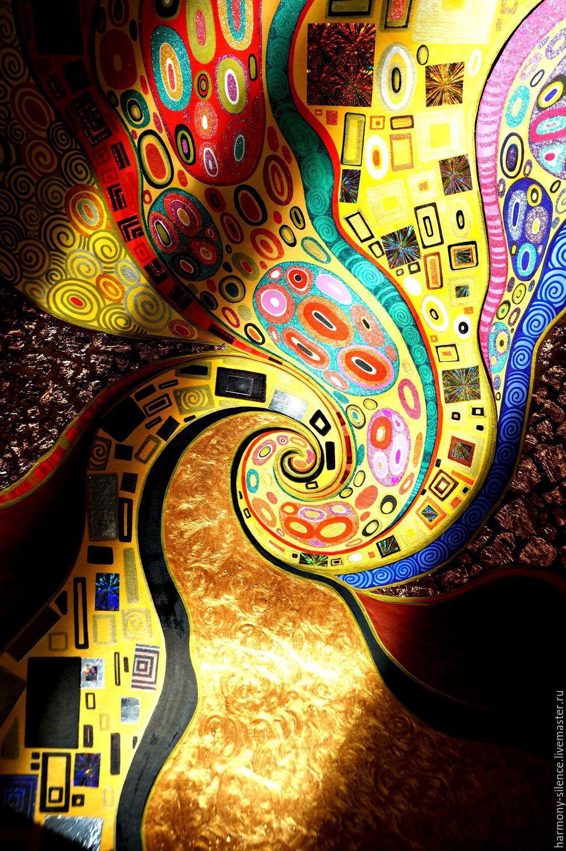 Painting Quot Klimt Kiss Quot Gustav Klimt The Gold Ornament