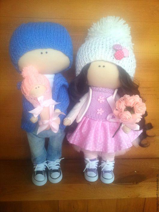 Куклы тыквоголовки ручной работы. Ярмарка Мастеров - ручная работа. Купить Интерьерная кукла. Handmade. Розовый, кукла ручной работы