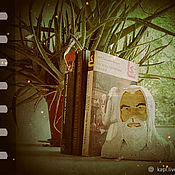 Для дома и интерьера handmade. Livemaster - original item Backup for books - sharzhik Gandalf (2). Handmade.