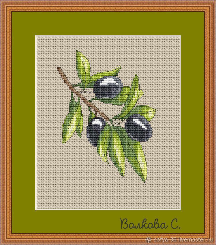 """Схема вышивки """"Олива"""", Схемы для вышивки, Курск,  Фото №1"""