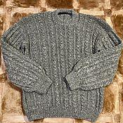 Мужская одежда handmade. Livemaster - original item Copy of Copy of Sweater 100% wool. Handmade.