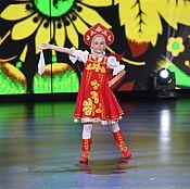Одежда ручной работы. Ярмарка Мастеров - ручная работа Русский народный детский танцевальный сценический костюм. Handmade.