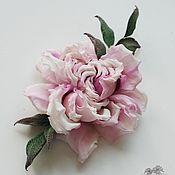 Свадебный салон handmade. Livemaster - original item Silk flowers. Rose