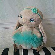 Куклы и игрушки ручной работы. Ярмарка Мастеров - ручная работа Интерьерный зайчик. Handmade.