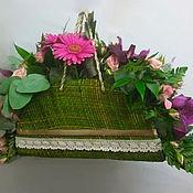 Цветы и флористика handmade. Livemaster - original item Handbag with flowers Provence. Handmade.