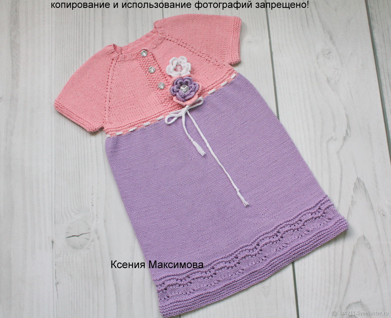 Violet dress size 98-104, Dresses, Novokuznetsk,  Фото №1