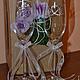 Свадебные аксессуары ручной работы. Свадебные бокалы с кристаллами Swarovski. Екатерина Куприянова. Ярмарка Мастеров. Свадебные бокалы, подарок