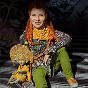 Куклы и игрушки ручной работы. Ярмарка Мастеров - ручная работа Портретная кукла Полина. Handmade.